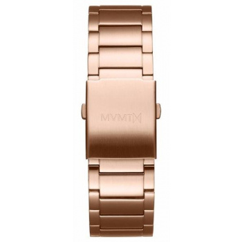 MVMT MENS CLASSIC SERIES 24MM STEEL BAND ROSE GOLD