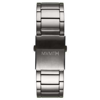 MVMT MENS CLASSIC SERIES 24MM STEEL BAND GREY