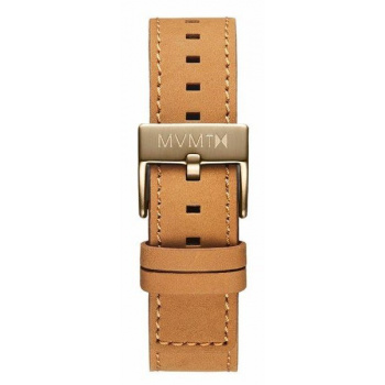 MVMT MENS CHRONO 40MM SERIES 20MM TAN LEATHER BRONZE