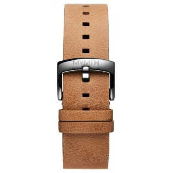 MVMT MENS BLACKTOP SERIES 24MM CARAMEL LEATHER SILVER
