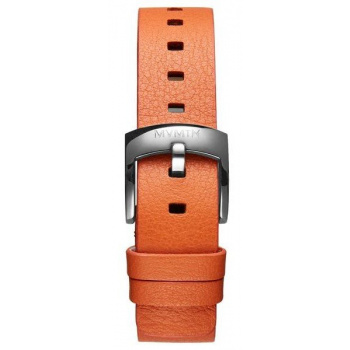 MVMT WOMENS BLOOM SERIES 16MM ORANGE LEATHER SIVLER