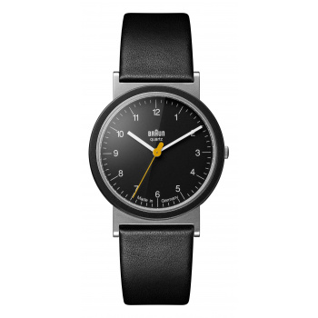 BRAUN AW 10 CLASSIC WATCH WITH LEATHER STRAP