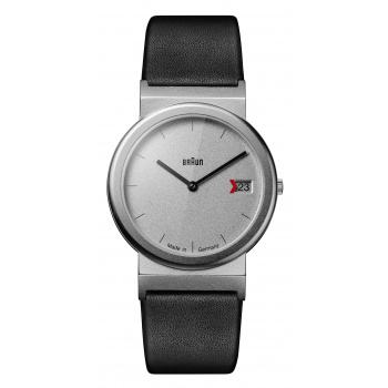 BRAUN AW 50 CLASSIC WATCH WITH LEATHER STRAP