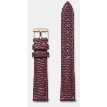 CLUSE STRAP 16 MM BURGUNDY LIZARD/ROSE GOLD CLS370