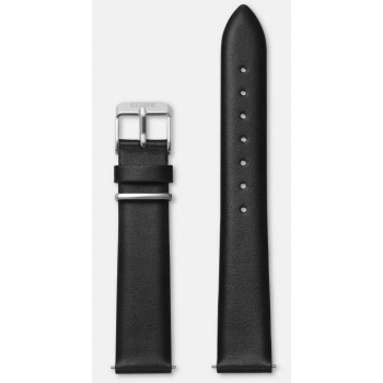 CLUSE STRAP 16 MM BLACK/SILVER CLS601