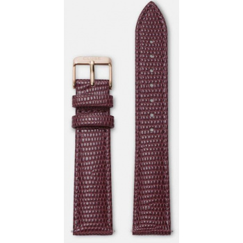 CLUSE STRAP 18 MM BURGUNDY LIZARD/ROSE GOLD CLS071