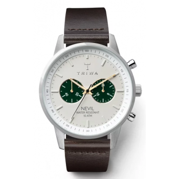 TRIWA EMERALD NEVIL BROWN CHRONOGRAPH