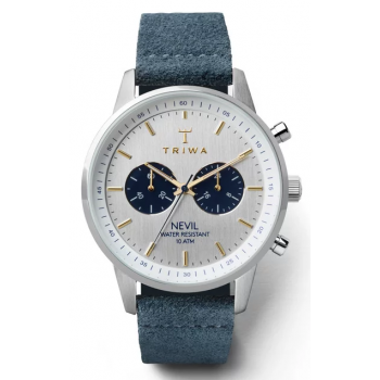 TRIWA OLIVER CABELL BLUE WATER CHRONOGRAPH