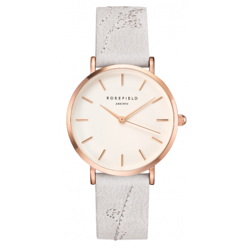 ROSEFIELD CITY BLOOM LILY WHITE - ROSE GOLD / 33MM