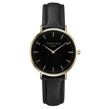 ROSEFIELD THE TRIBECA BLACK BLACK GOLD / 33 MM