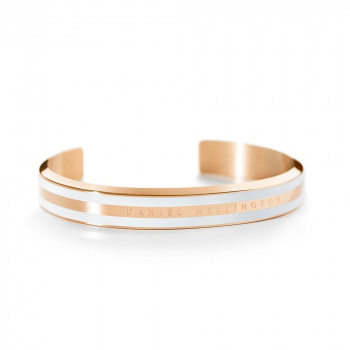 DANIEL WELLINGTON CLASSIC BRACELET WHITE - Rose Gold - small