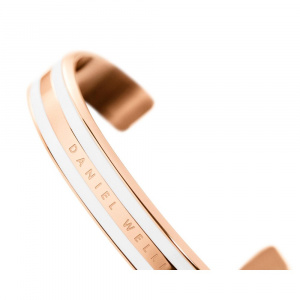 DANIEL WELLINGTON CLASSIC BRACELET WHITE - Rose Gold - large DW00400005