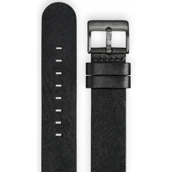CRONOMETRICS LEATHER STRAP - BLACK CM00SLBL