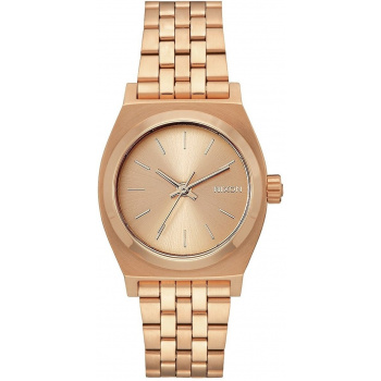 NIXON MEDIUM TIME TELLER ALL ROSE GOLD