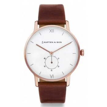 KAPTEN and SON HERITAGE BROWN LEATHER