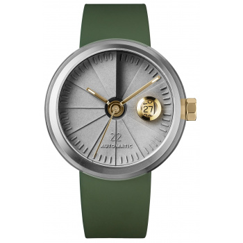 22 DESIGN STUDIO 4D Concrete Watch Automatic - Oasis Edition