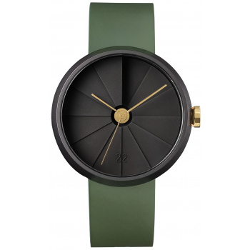 22 DESIGN STUDIO 4D Concrete Watch 42mm Jungle Edition