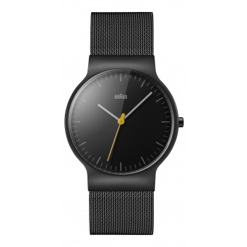 BRAUN  GENTS BN0211 CLASSIC SLIM WATCH WITH MESH BRACELET