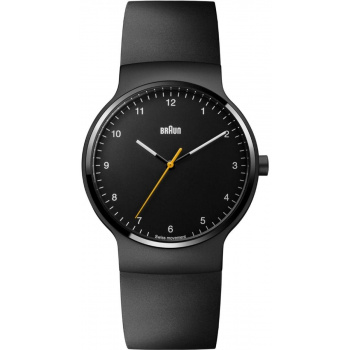 BRAUN GENTS BN0221 PRESTIGE SLIM WATCH WITH RUBBER STRAP