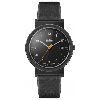 BRAUN GENTS AW 10 EVO CLASSIC WATCH WITH LEATHER STRAP