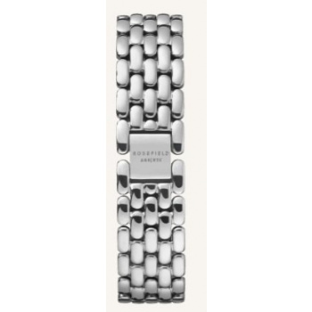 ROSEFIELD THE GABBY STRAPS STEEL SILVER / 33 MM