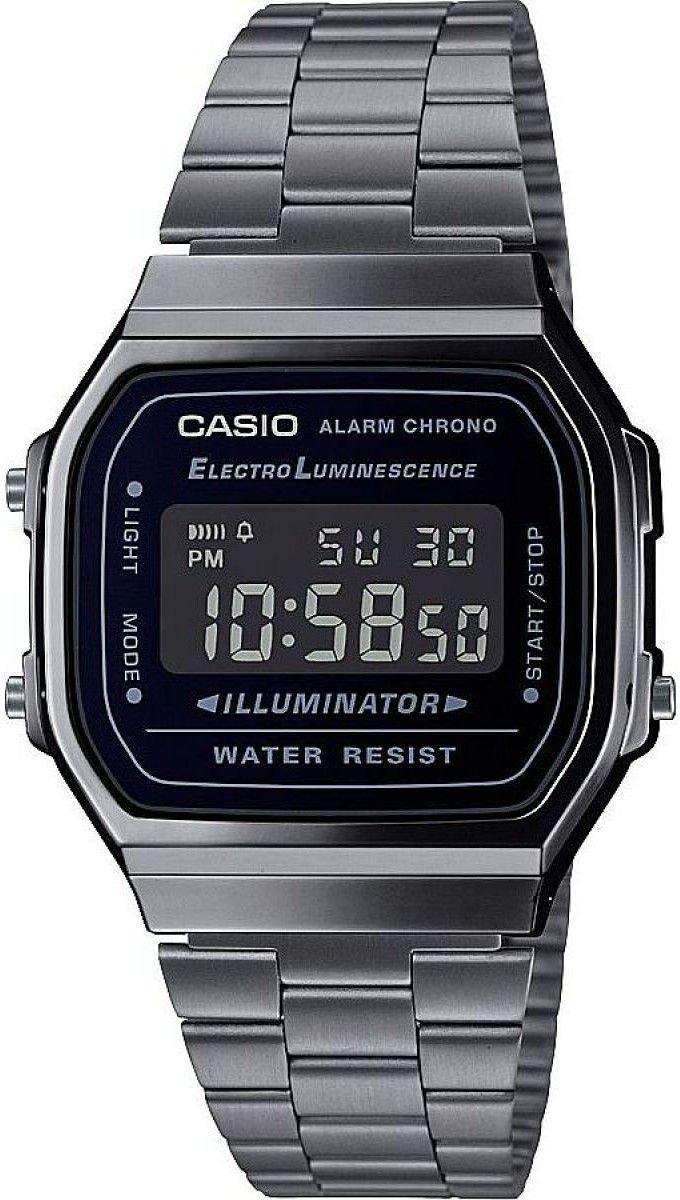 CASIO - Retro A168WEGG-1BEF + dárek zdarma