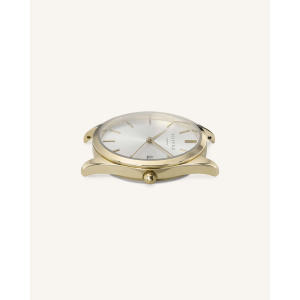 Hodinky ROSEFIELD THE ACE SILVER SUNRAY GOLD / 38 MM ACSG-A03