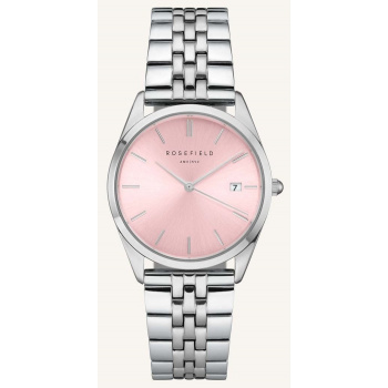 ROSEFIELD THE ACE PINK SUNRAY SILVER / 38 MM