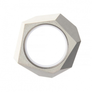 22 DESIGN STUDIO Rock Ring White