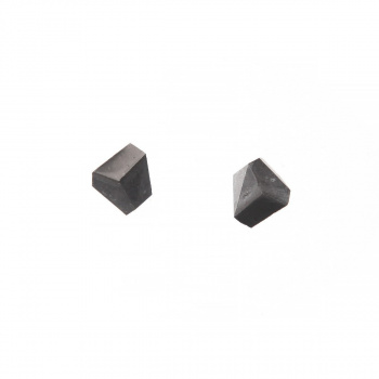 22 DESIGN STUDIO Rock Earring Dark Grey