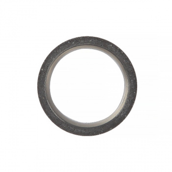 22 DESIGN STUDIO Tube Ring Dark Grey