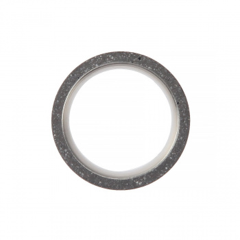 22 DESIGN STUDIO Tube Ring THIN Dark Grey
