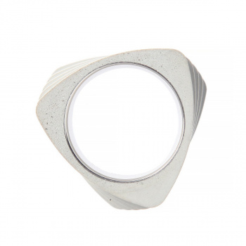 22 DESIGN STUDIO Twist Ring White