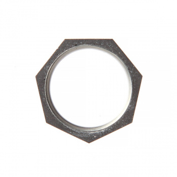 22 DESIGN STUDIO Seven Ring THIN Dark Grey