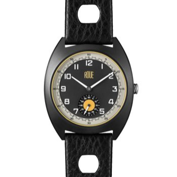 ROUE SSD TWO BLACK CASE GRAPHITE DIAL