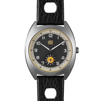 ROUE SSD THREE SILVER CASE GRAPHITE DIAL