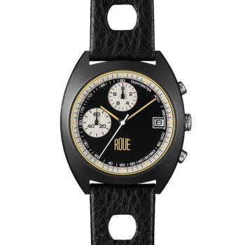 ROUE CHR TWO BLACK CASE BLACK DIAL