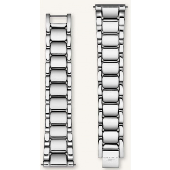 ROSEFIELD TRIBECA SILVER STRAP 33MM