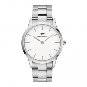 DANIEL WELLINGTON ICONIC LINK 36 mm Silver White - DW00100203